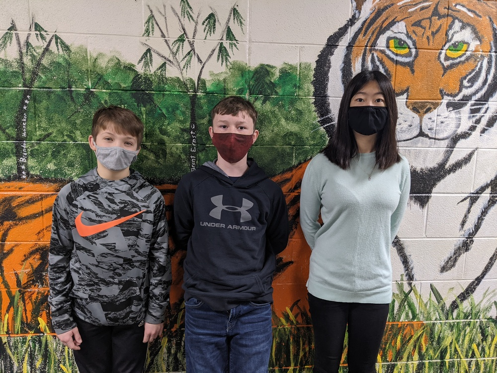 Three FCMS students place at the Richardson County Spelling Bee