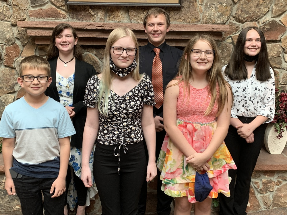 FCMS competes in Eastern NE Speech Contest 2021